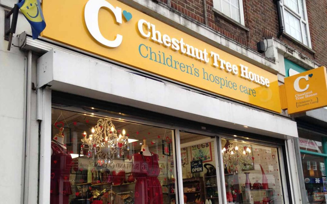 Avios and Chestnut Tree House Charity Shop Challenge
